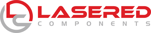 Lasered Components Logo