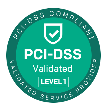 PCI-DSS Compliant Badge