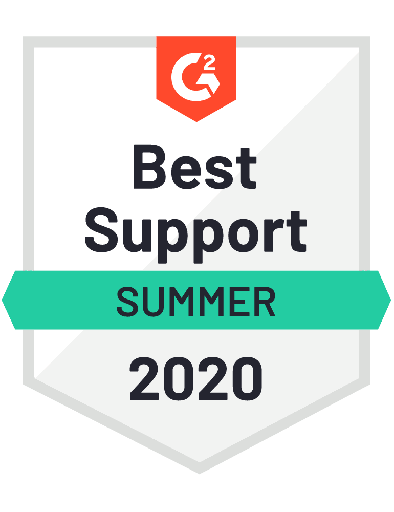 G2 Best Support Award