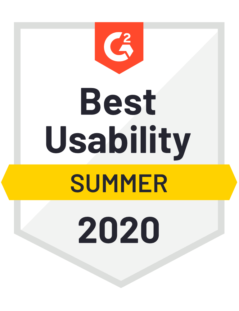 G2 Best Usability Award