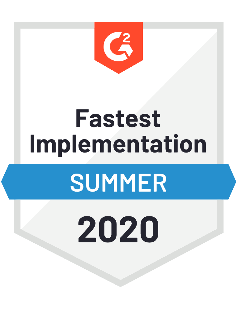 G2 Fastest Implementation Award