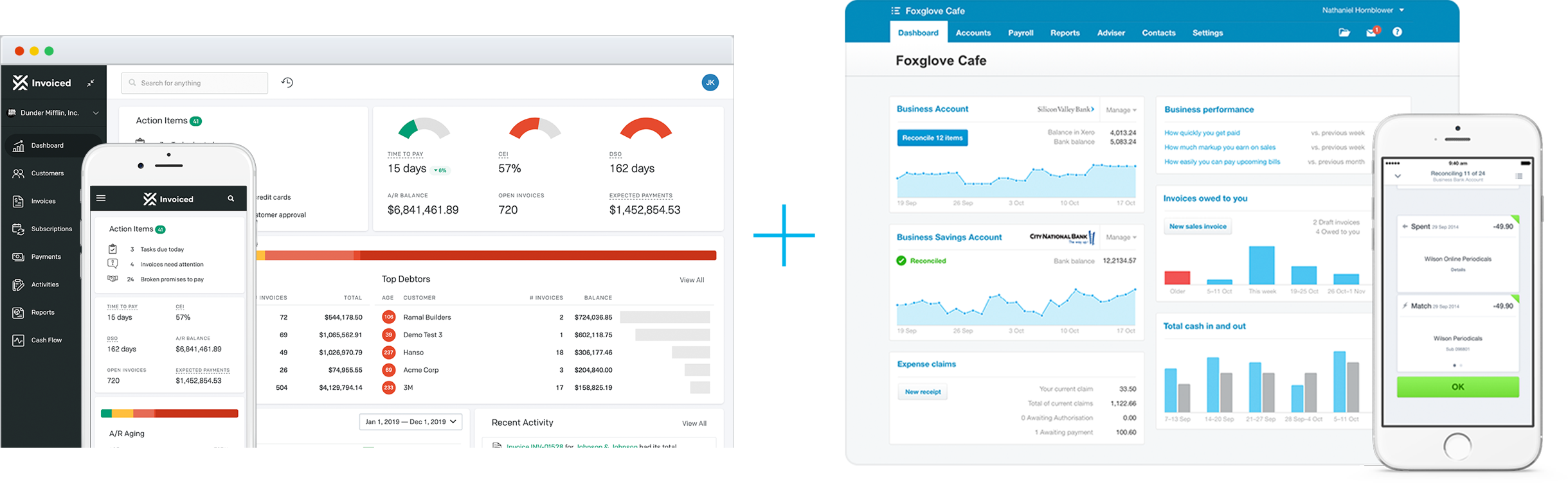 Invoiced and Xero Integration